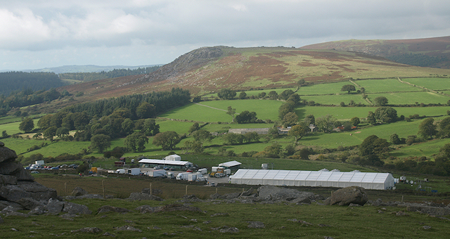 War Horse - Production Camp below Sheeps Tor