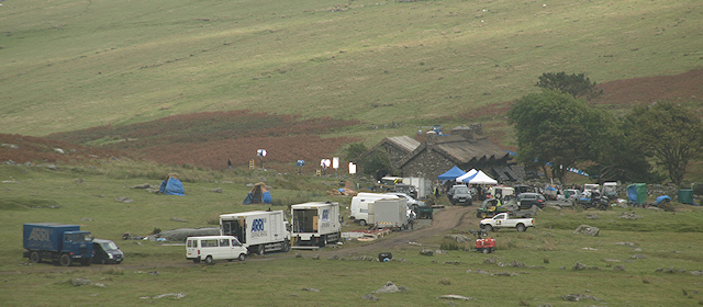 War Horse filming at Ditsworthy Warren